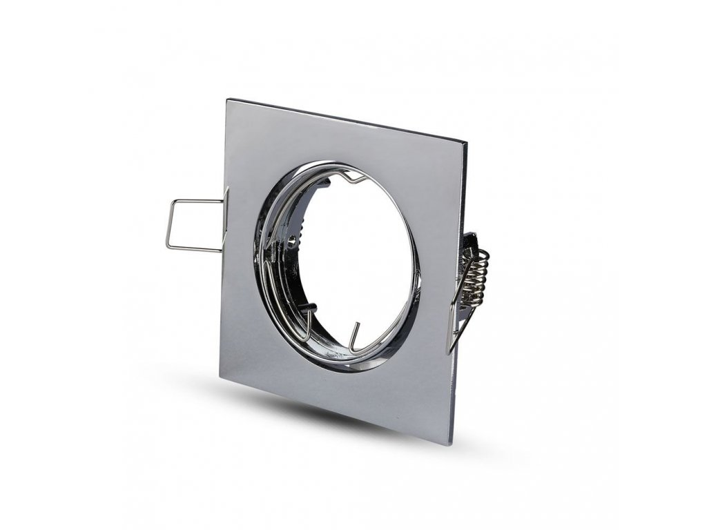 Obruba pro žárovku GU10 (VT-779-CH-SQ-3592)