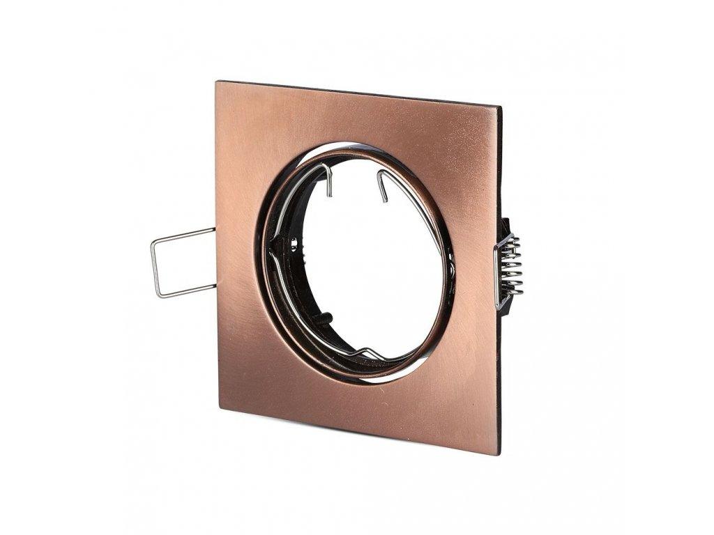 Obruba pro žárovku GU10 bronzová (VT-779-SB-8582)