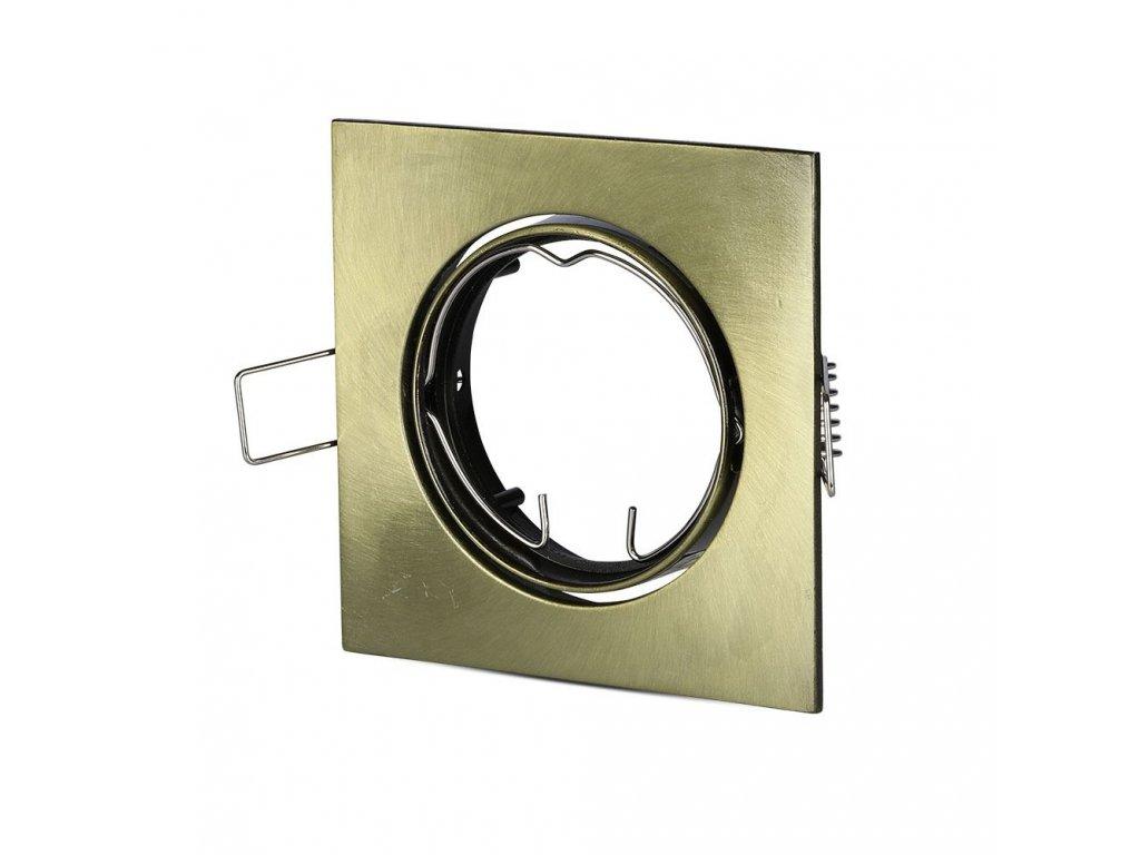 Obruba pro žárovku GU10 zlatá (VT-779-SG-8581)