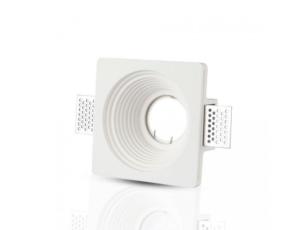 Obruba pro žárovku GU10 bílá (VT-867-RD-3152)