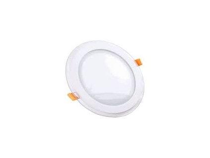 Podhledové svítidlo vsazené R 12W 3K skleněný rám (VT-1202-4744)