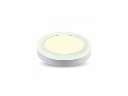 LED světlo přisazené R 8W 6400K dvojité (VT-809-4892)
