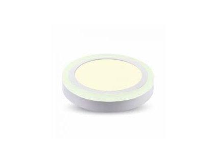 LED světlo přisazené R 8W 3K dvojité (VT-809-4890)