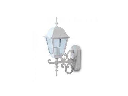 LED zahradní lampa bílá nástěnná 400mm (VT-760-7520)