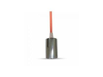 Závěsná objímka E27 oranžová (VT-7338-3788)