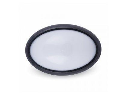 LED stropní svítidlo ovál 12W 6K IP65 (VT-8010-1269)