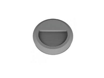 LED orientační svítidlo R 2W 3K šedé (VT-1142-1319)