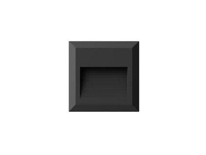 LED orientační svítidlo Q 2W 3K černé (VT-1152-1323)