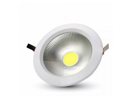 LED vsazené svítidlo R COB 30W 6K 3600lm (VT-26301-1278)