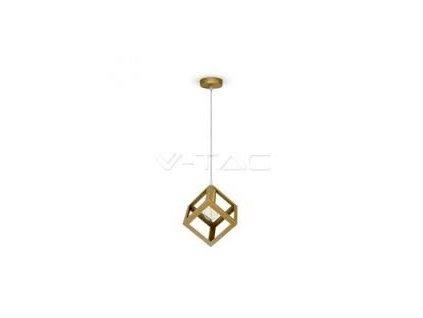 Lustr metal krychle champagne gold (VT-7161-3833)