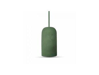 Cementové držadlo k lustrům E27 zelené (VT-7668-3742)