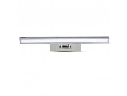 LED zrcadlové svítidlo chrome 4K 8W 600lm obdélník (VT-7009-3900)