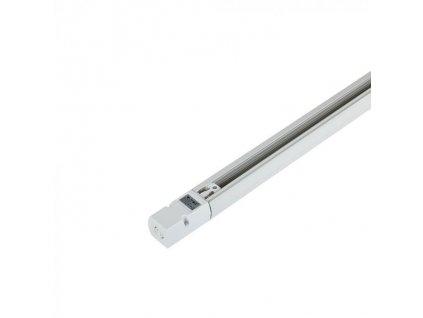 4-polová lišta 2m bílá  EU standard (VT-XXXX-9955)