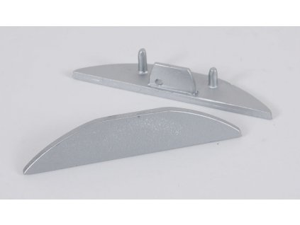 Koncovka XC28 půlkulatá (55/LED/XC28/K)