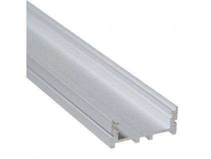 """Profil """"XC01"""" 2m stříbrný (55/LED/XC01)"""
