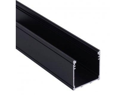 "Profil ""XC21"" 2m černý (55/LED/XC21/CC)"