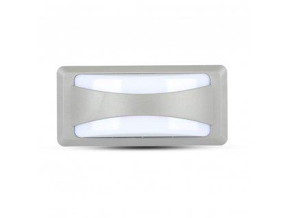 LED nástěnné svislé obd. svítidlo 12W 3000K IP65 (VT-8058-8245)