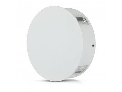LED nástěnné svítidlo 4W 4000K IP65 bílé 4 směry (VT-706-8214)