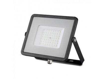 LED reflektor Slimline SAMSUNG 50W IP65 3000K černý (VT-50-B-406)