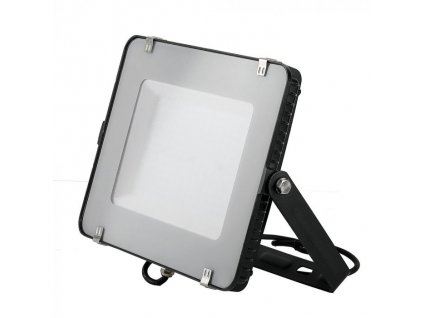 LED reflektor Slimline SAMSUNG 150W IP65 6400K černý (VT-150-B-477)
