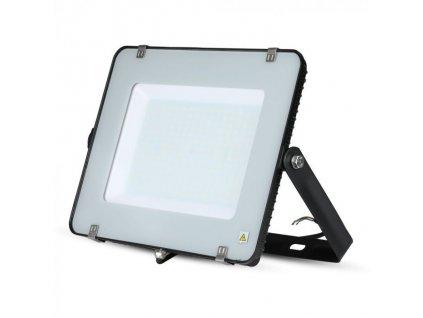 LED reflektor Slimline SAMSUNG 200W IP65 4000K černý (VT-200-B-418)