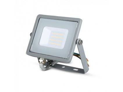 LED reflektor Slimline SAMSUNG 20W IP65 3000K šedý (VT-20-G-445)