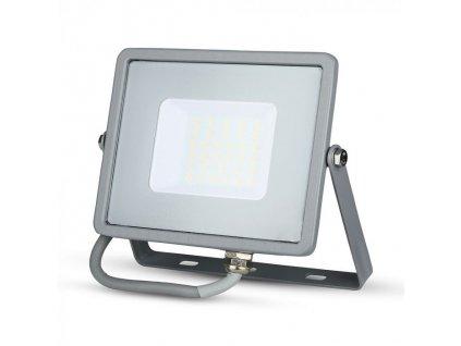 LED reflektor Slimline SAMSUNG 30W IP65 3000K šedý (VT-30-G-454)