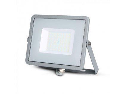 LED reflektor Slimline SAMSUNG 50W IP65 3000K šedý (VT-50-G-463)