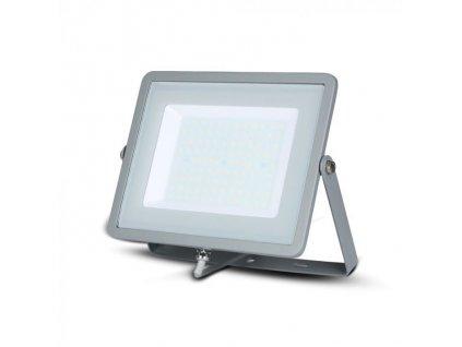 LED reflektor Slimline SAMSUNG 100W IP65 3000K šedý (VT-100-G-472)