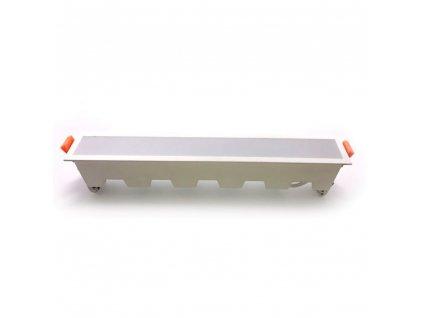 LED světlo vsazené lineární 30W 2400lm 3000K (VT-30001-6407)