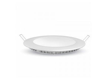 Podhledové svítidlo vsazené R PREMIUM 12W 1000lm 6400K (VT-1207-4859)