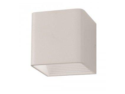 LED nástěnné svítidlo Q 5W 4K bílé (VT-758-7095)