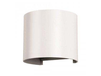 LED nástěnné oblé svítidlo 6W 3K bílé (VT-756-7082)