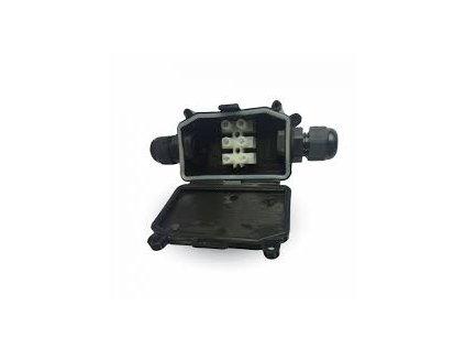 Elektrická krabička černá voděodolná UV odolná (VT-7224-3578)