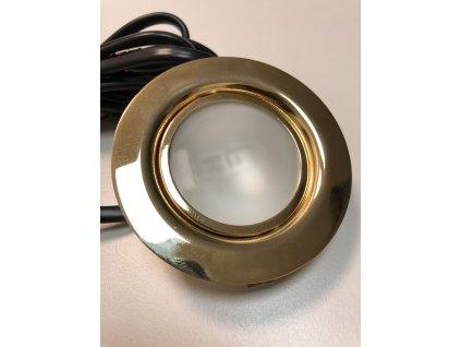 G4 nábytkové svítidlo vestavné zlaté (24470)