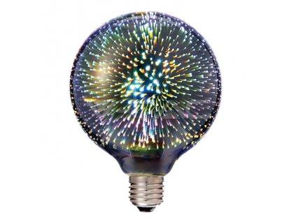 LED žárovka E27 3W G125 3000K (VT-2233-2706)