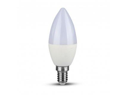 LED žárovka 5,5W svíčka E14 6400K (VT-226-173)