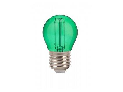 42821 zelena led zarovka 2w g45 e27 vt 2132 g 7411