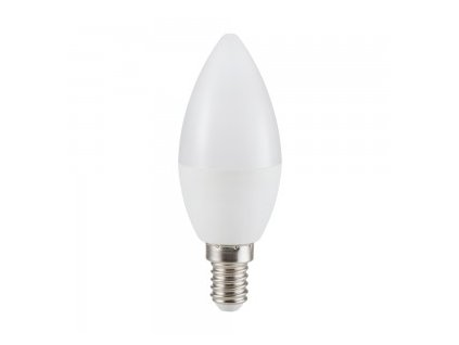LED žárovka E14 svíčka 5,5W CRI 95 4500K (VT-2226-7495)
