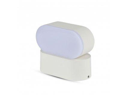 LED nástěnné svítidlo 6W 3000K IP65 bílé (VT-816-8286)