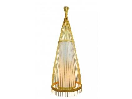 Ratanová stojací lampa 150cm (VT-4150-40561)