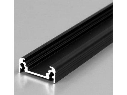 Hliníkový Profil SURFACE 10 BC/UX černý elox 2m (metráž) (3209113120)