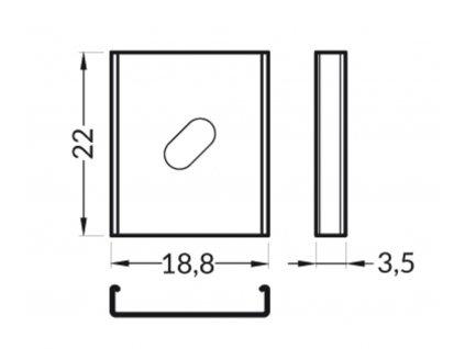 50651 montazni uchyt y excentr nerez ocelovy par 3209192120