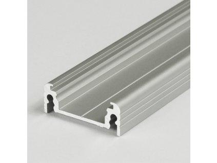 50696 hlinikovy profil surface 14 ef y stribrny mat elox 2m metraz 3209142120