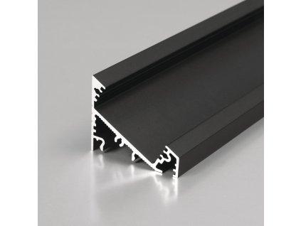 Profil CORNER27 G/U černý elox 2m (metráž) (3209229120)