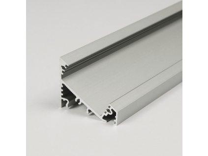 Profil CORNER27 G/U stříbrný mat 2m (metráž) (3209122120)