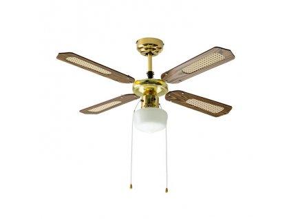 Lustr s ventilátorem AC MOTOR 50W (VT-6042-4-7914)