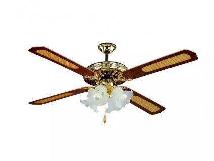 Lustr s ventilátorem AC MOTOR 55W (VT-6056-4-7921)