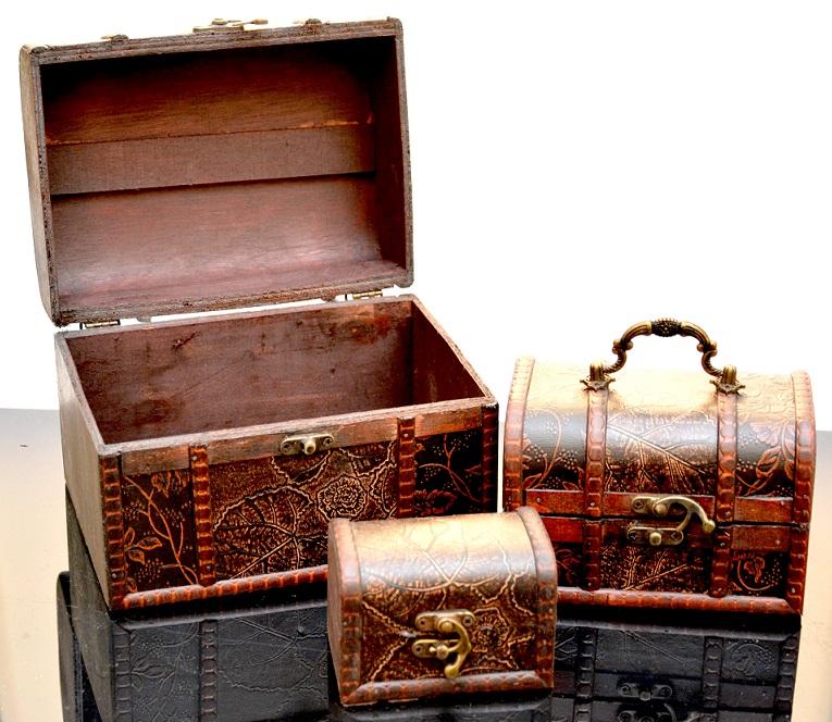 Šperkovnice a truhle