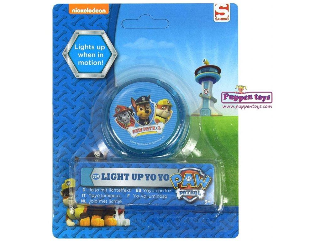 JO-JO PAW PATROL svítící